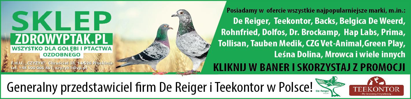 ZdrowyPtak.pl - sklep z artykułami dla gołębi pocztowych